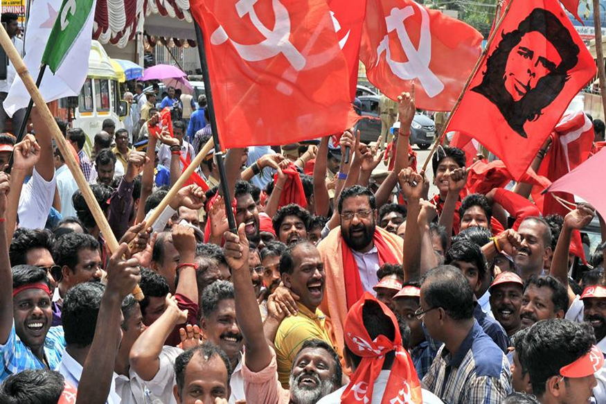 Himachal pradesh Assembly Elections 2017 Left Parties and BJP congress. Image Source: CPIM.org